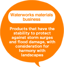 Waterworks materials business